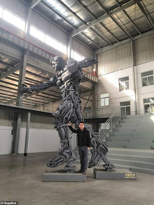 中国艺术家花38万用2年为新西兰制作雕像被拒,无人接手苦寻买家
