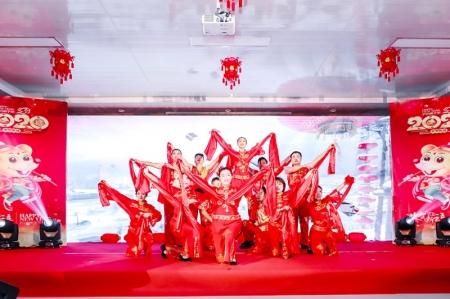 山西综改示范区潇河产业园区2020年新春联欢会开幕