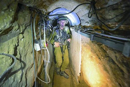 以色列埋设传感器 监测跨境地道