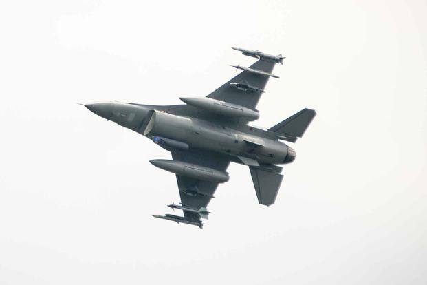 美國空軍裝備的F-16戰斗機
