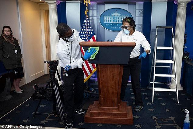 美媒:拜登入驻前,白宫将进行全面消毒清洁