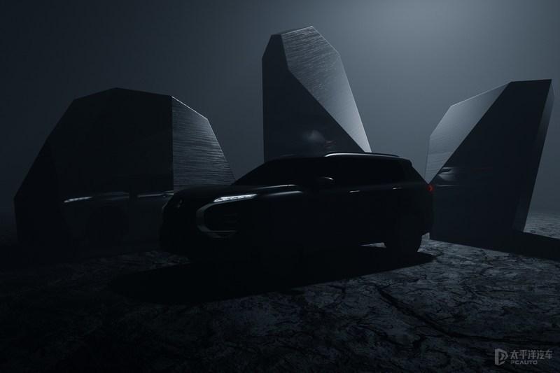 新一代三菱欧蓝德预告 于2021年2月全球首发