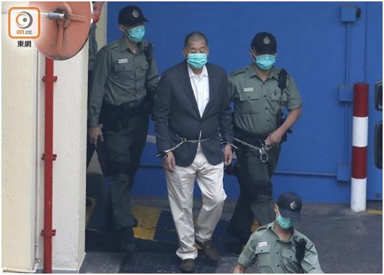 被问有市民建议将黎智英移交内地审讯,香港律政司司长回应