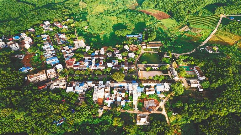 绘就村庄规划 增色美丽海南图片