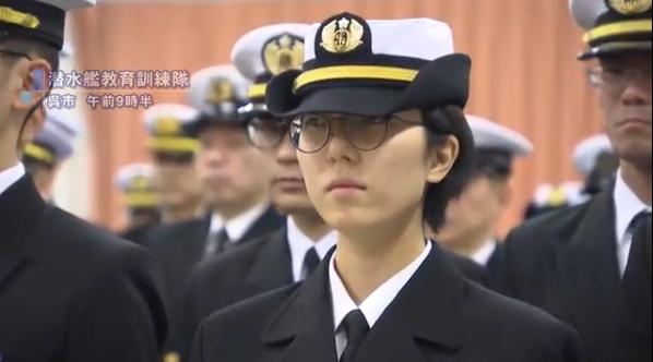 竹之内里咲参加入校式(广岛电视台)