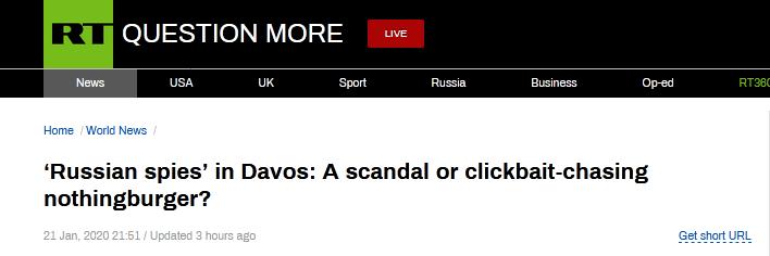 RT报道截图