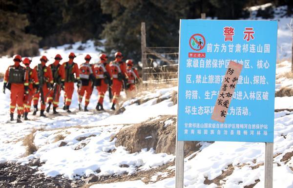 新春走基层|祁连山深处的生态守护者:春节巡护多了一倍