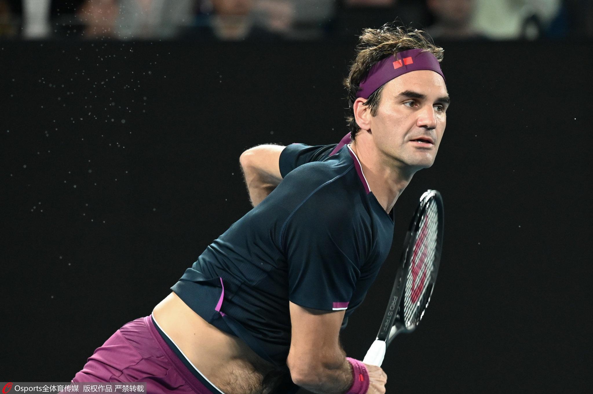费德勒拿下澳网第99胜,通往半决赛之路更为平坦图片