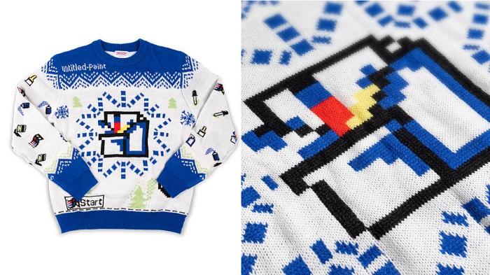 微软推出画图主题的Windows Ugly系列毛衣