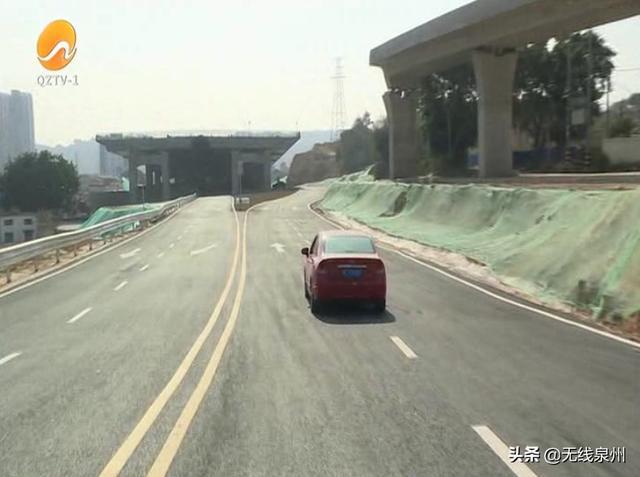 泉州:市区城东至北峰快速通道城东段辅道贯通啦