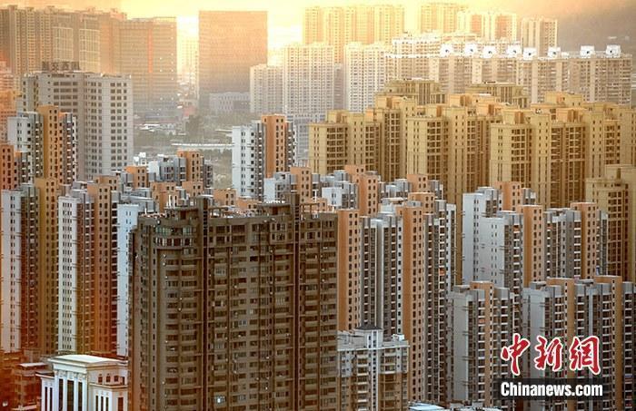 资料图:图为福建省龙岩市区一处房地产楼盘。中新社记者 张斌 摄