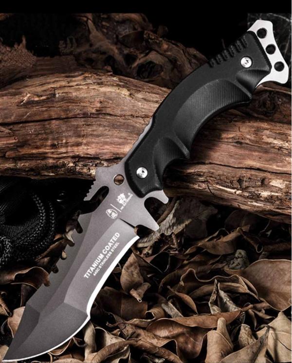 小米有品上架三叉戟战术刀:一刀三刃 野外求生必备