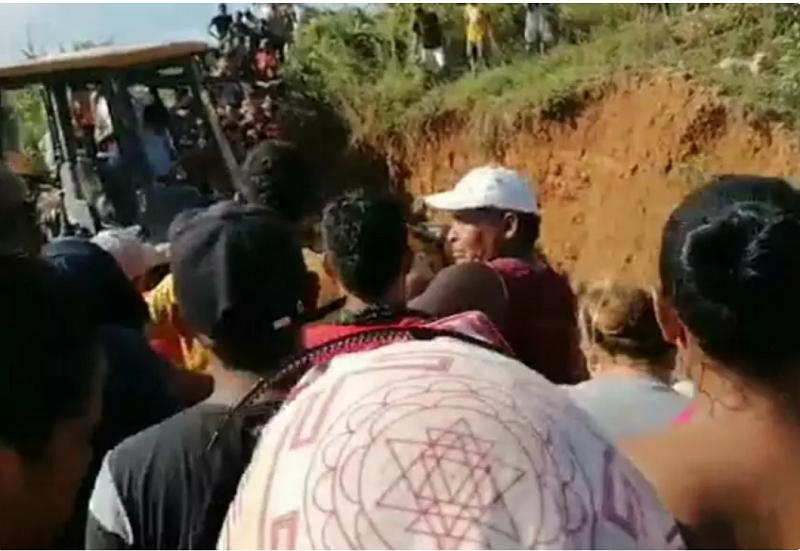 哥伦比亚一煤矿因山体滑坡而坍塌 事故已致3名矿工死亡
