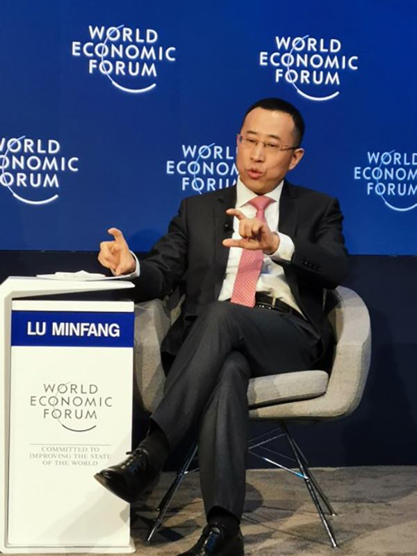 蒙牛总裁卢敏放:中国企业家在达沃斯的数量和声量还非常小