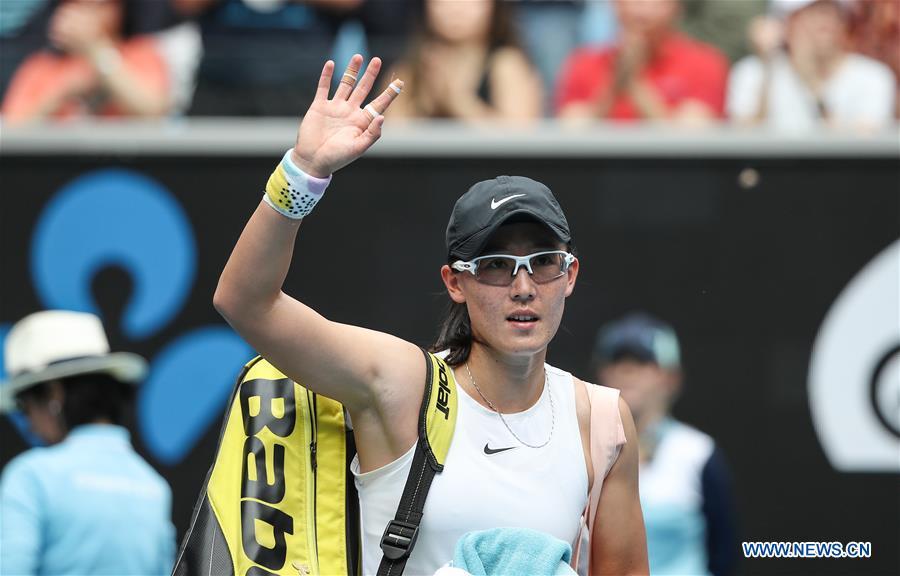 Zheng Saisai unable to stop Naomi Osaka at Australian Open
