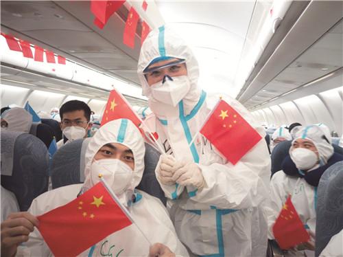"""国航西南客舱部:为""""复工复产""""筑起疫情防线"""