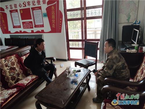 临川区荣山镇做好春季征兵宣传工作(图)
