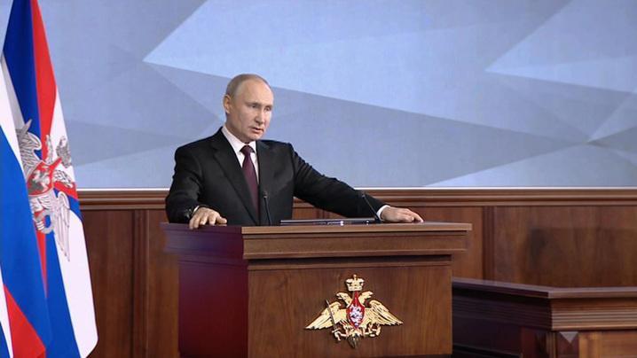 普京要求俄军对西方可能的军事威胁做出迅速应对