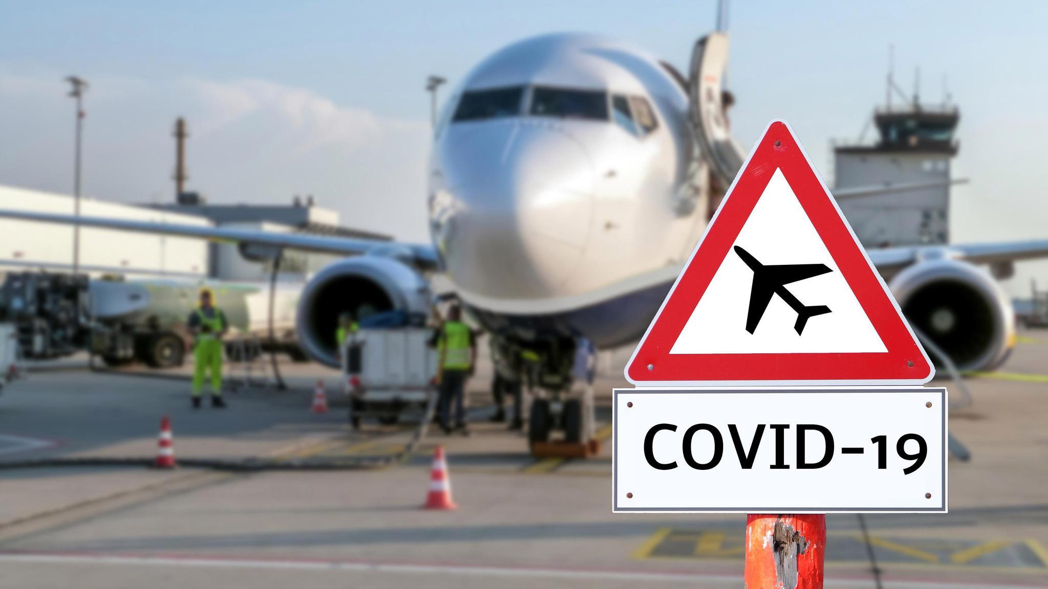 巴西卫生监督局对来自英国的航班进行安全检查