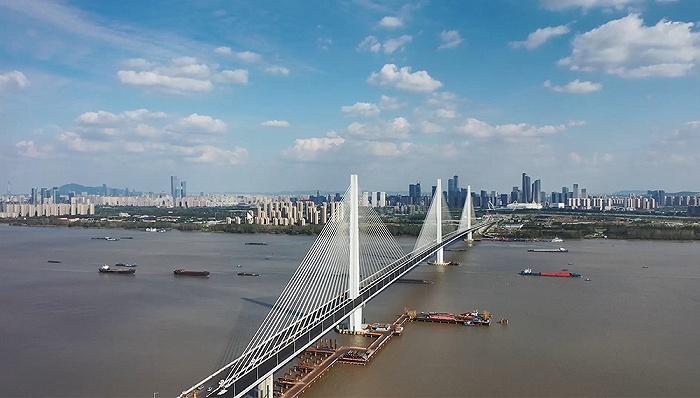 南京江心洲大桥与上坝夹江大桥将于12月24日14时同时开通图片