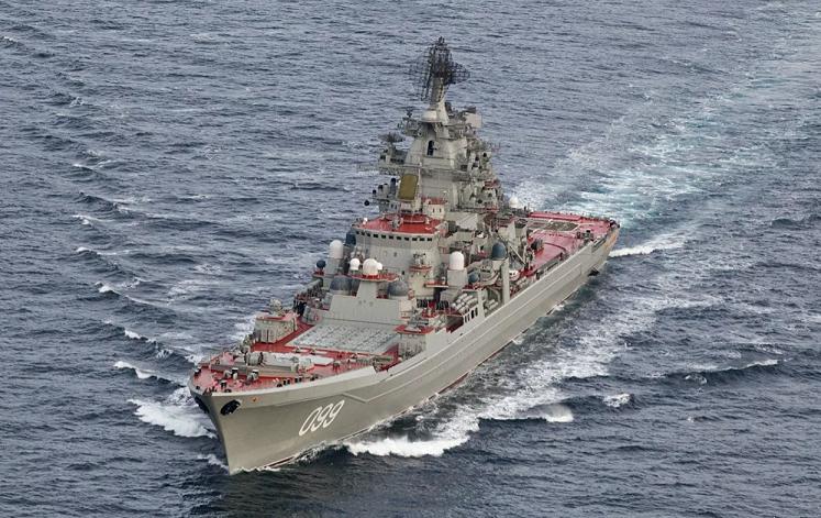 """俄罗斯北方舰队将提升至""""军区""""级别"""
