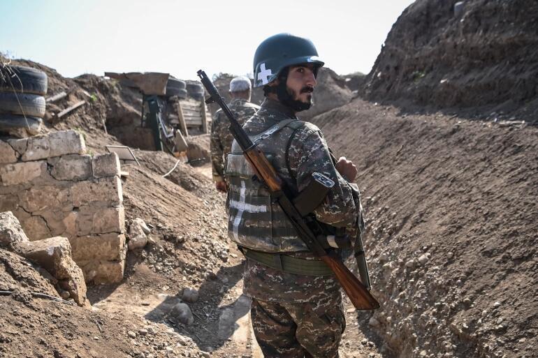 俄媒:6名亚美尼亚士兵失踪70天后在纳卡地区被发现
