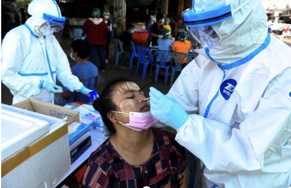 泰国水产品批发市场新增242例确诊病例