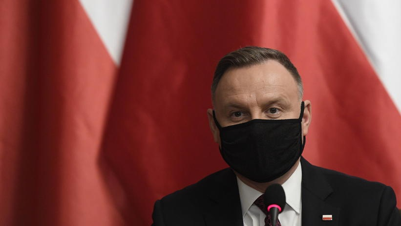 波兰总统杜达:已准备好接种新冠疫苗