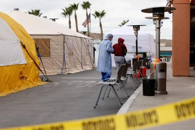 美新冠病房发生惨案:82岁老人被病友用氧气罐砸死