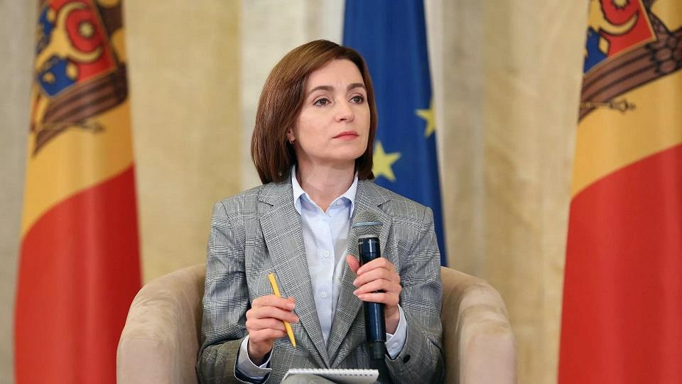 马娅-桑杜就任摩尔多瓦新一届总统