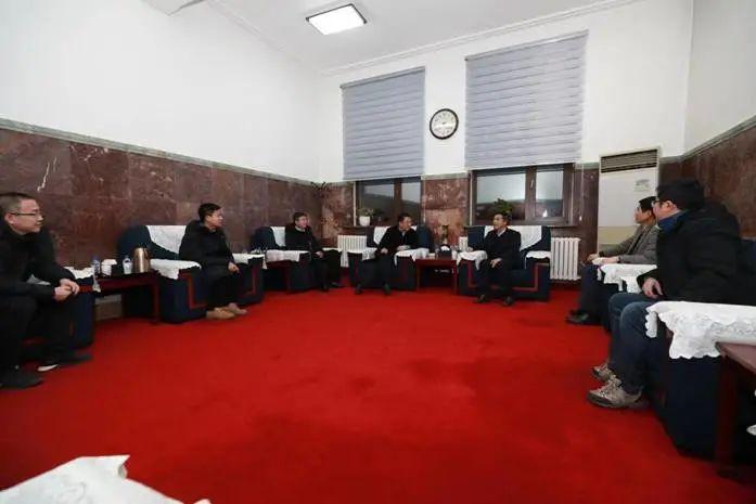 白山市委书记王冰率队来吉林农业大学洽谈科技合作图片