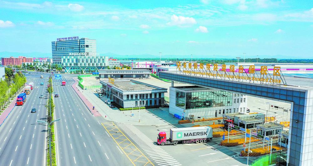 成都国际铁路港综保区通过验收图片