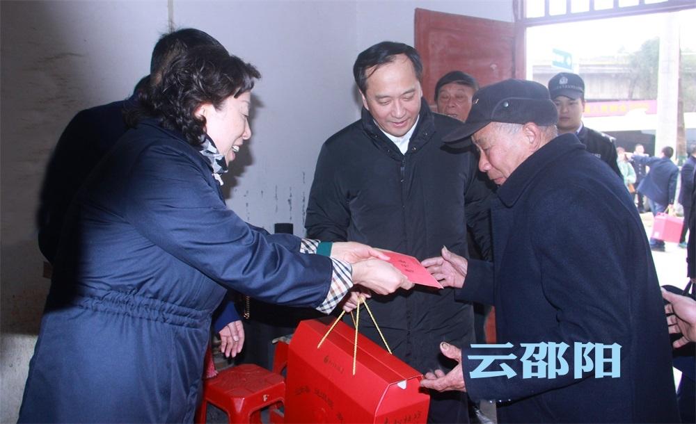 刘莲玉许显辉来邵走访慰问困难群众、困难党员
