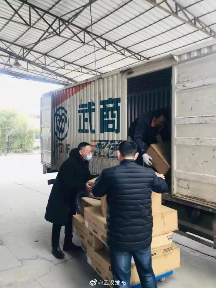 武汉部分超市蔬菜销量上涨4