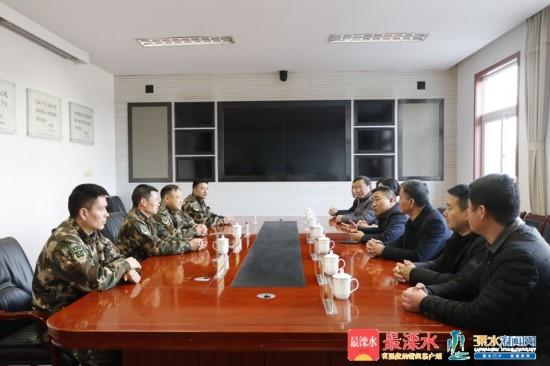 南京市溧水区领导走访慰问困难群众