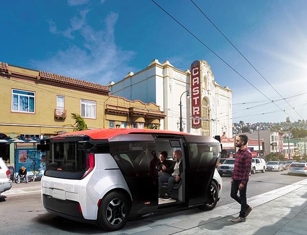通用汽车推出新款无人驾驶出租车:没有方向盘,即将投入生产
