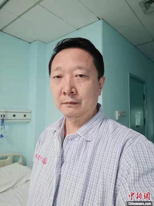 被感染的专家组成员王广发:一种抗艾滋病病毒的药对我很有效