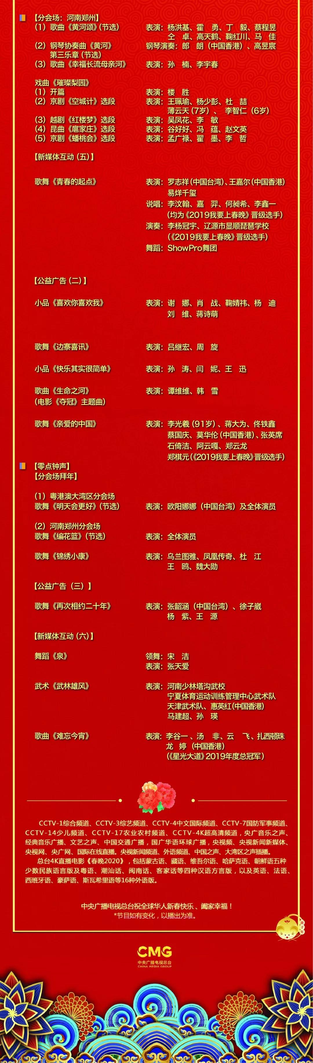 央视春晚节目单发布 宋丹丹不演小品演开场歌舞
