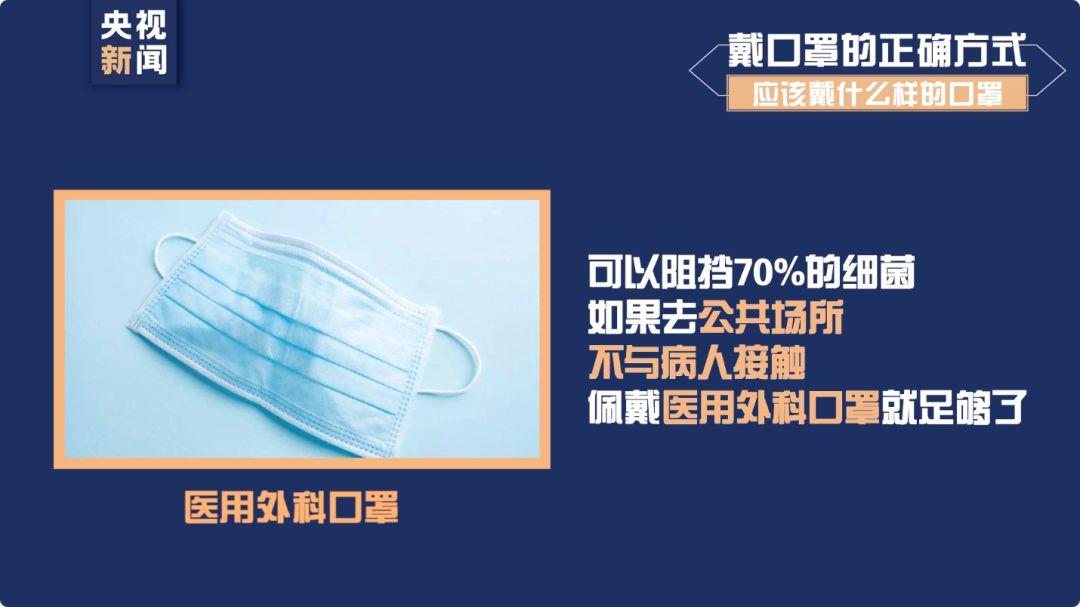 口罩怎么选如何洗手才正确?此文必须看图片