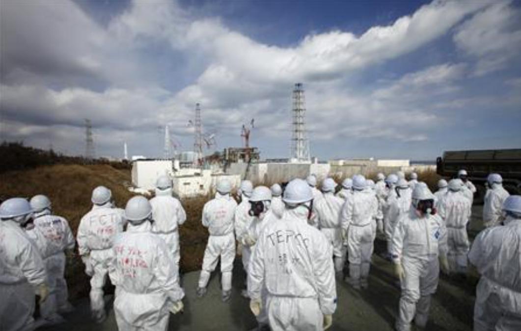 日本福岛核电站发生疫情 3名工作人员确诊