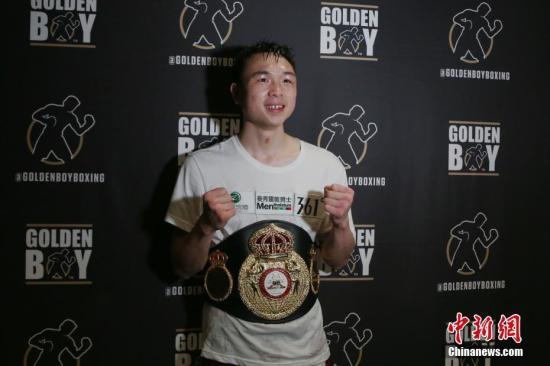 中国唯一现役世界拳王徐灿为湖北捐款20万元