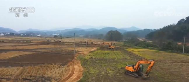 冬季农田建设 江西:推进高标准农田建设 助力来年耕种图片