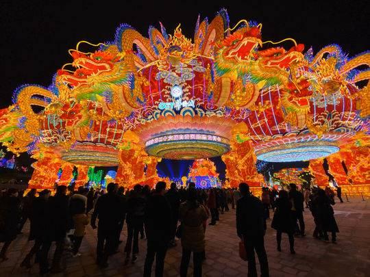 官宣来了!第26届自贡国际恐龙灯会1月25日起暂停展出