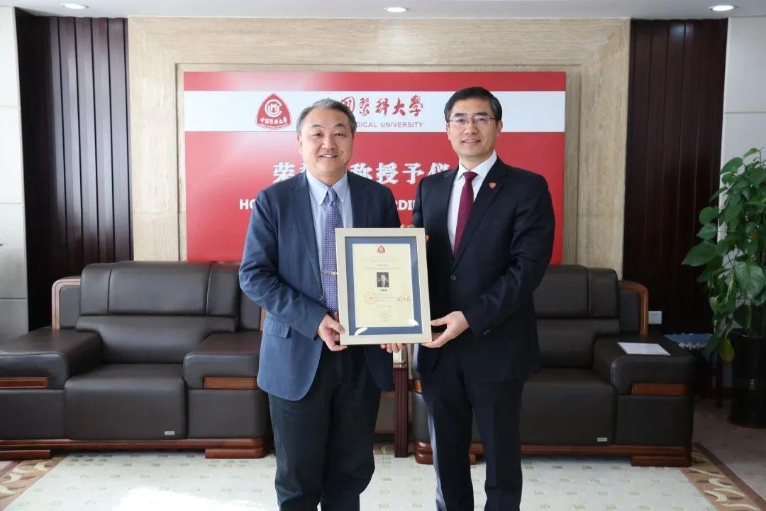 中国科学院院士、首都医科大学副校长王松灵受聘我校荣誉教授图片