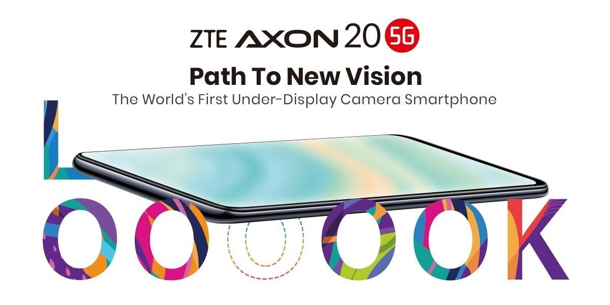 首款屏下摄像头手机,中兴 Axon 20 5G 现已在全球上市