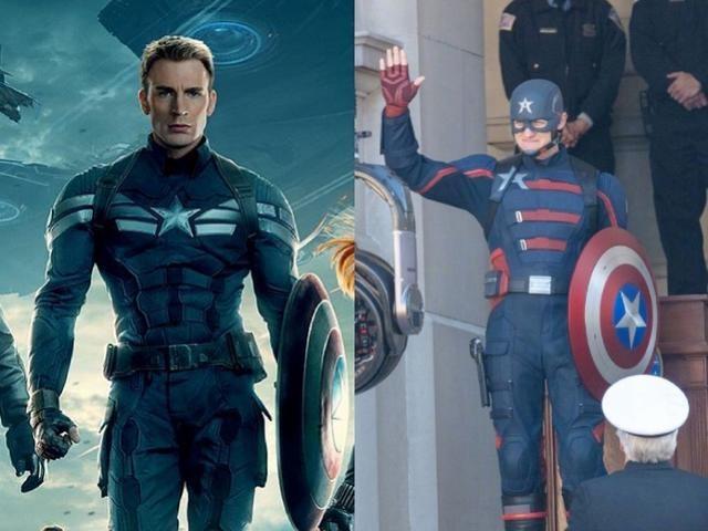 """新一代""""美国队长""""现身漫威新剧片场?"""