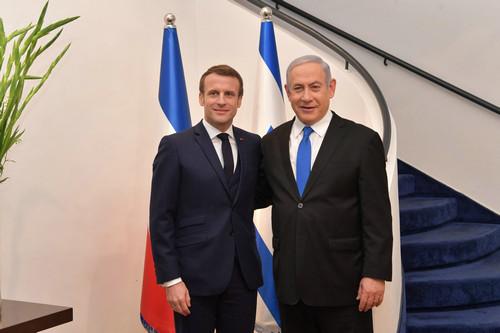 """外媒:马克龙""""微妙时期""""访以色列"""