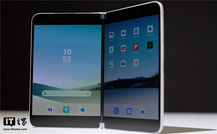 微软Surface Duo安卓手机桌面UI大曝光