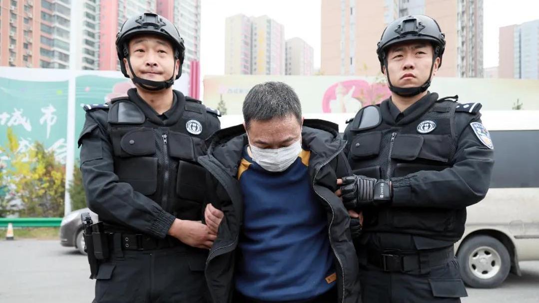 警方曾悬赏50万征集线索 陕西咸阳涉黑在逃夫妻落网图片