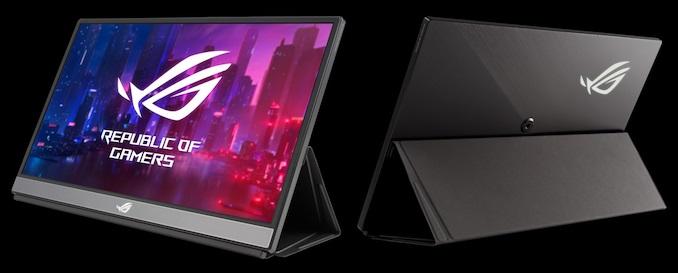 华硕推出17.3英寸便携屏幕:240Hz刷新率,内置电池